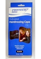 Protect Hairdressing Cape Black.