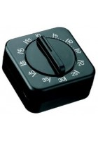 Timer - Clip on digital black