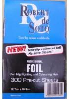 de Soto Embossed Silver Foil (300)