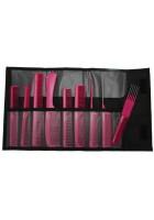 Jaguar Ionic Comb Set (9) -pink