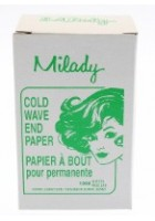 Milady End Papers 6.4x10.2