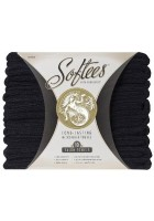 Softees Salon Towels (Pk 10) Black